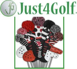 Just4Golf Knit Golf Headcovers