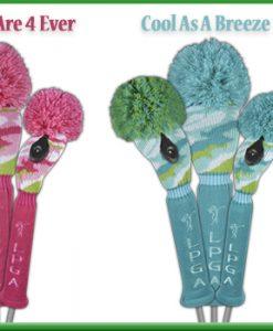 LPGA Knit Golf Headcovers