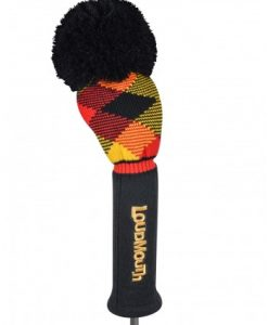 Loudmouth Cheezburger Knit Driver Golf Headcover