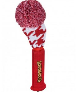 Loudmouth Red Tooth Driver Golf Headcover
