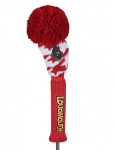 Loudmouth Red Tooth Fairway Golf Headcover