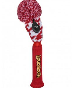 Loudmouth Red Tooth Hybrid Golf Headcover