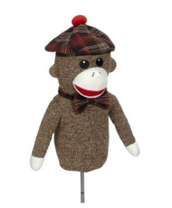 Sock Monkey Golf Headcover