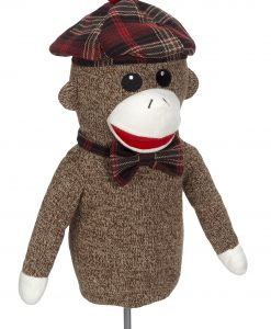 Sock Monkey Driver Golf Headcover