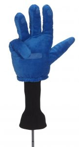 Helping Hand Driver Golf Headcover