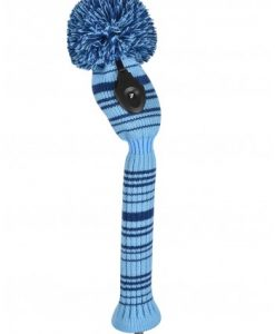 just4golf navy light blue variegated hybrid golf headcover