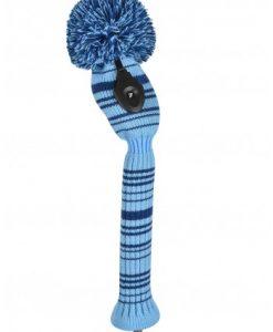 just4golf navy light blue variegated hybrid golf headcover