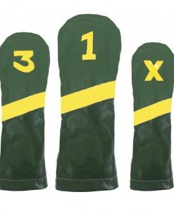 Masters Leather Golf Headcover Set