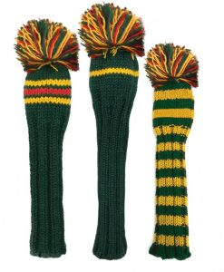 Masters Knit Golf Headcovers Set