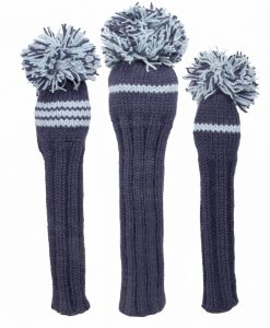 Classic Knit Golf Headcover Set