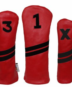 Leather Golf Headcover Set