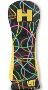 Loudmouth Retro Hybrid Golf Headcover Scribblz
