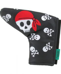 Skull and Cross Bones Putter Cover