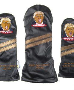 Trump set of 3 Golf Headcovers