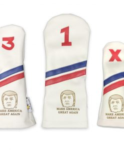 Trump Golf Headcover Set