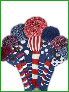 Glory Days Knit Golf Headcovers