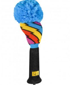 just4golf loudmouth captain thunderbolt driver golf headcover