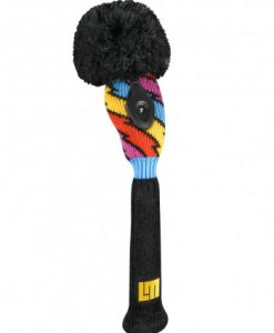 just4golf loudmouth captain thunderbolt hybrid golf headcover