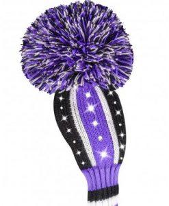Sparkle Vertical Stripe Purple Hybrid