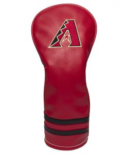 Arizona Diamondbacks Vintage Fairway Golf Headcover Arizona Diamondbacks Vintage Fairway Golf Headcover. Fits clubheads up to 460cc. Made of durable synthetic leather with soft lining to protect your clubs.