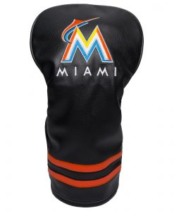 Miami Marlins Vintage Driver Golf Headcover