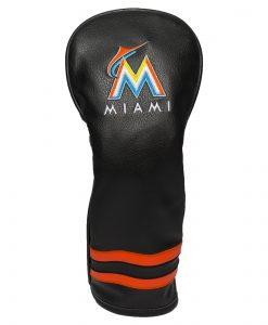 Miami Marlins Vintage Fairway Golf Headcover