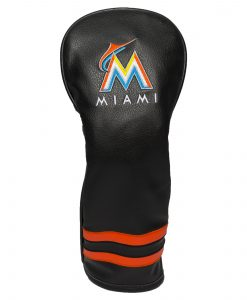 Miami Marlins Vintage Fairway Golf Headcover