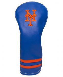 New York Mets Vintage Fairway Golf Headcover