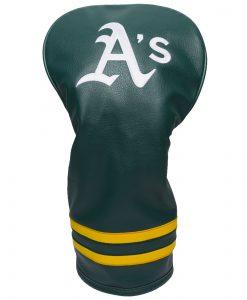 Oakland Athletics Vintage Driver Golf Headcover