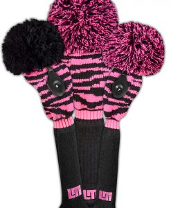 Loudmouth Pink Tarzan Golf Headcover Set