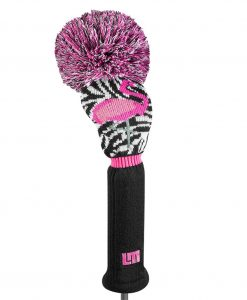 Loudmouth Savage Flamingos Driver Golf Headcover