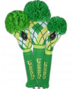 loudmouth a tisket a tasket golf headcover set
