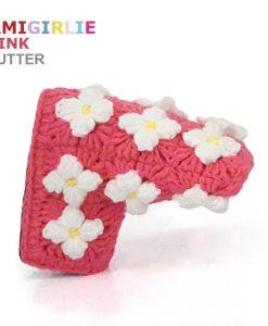 AmiGirlie Pink Putter Golf Headcover