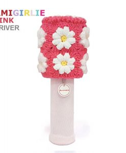 Amigirlie Pink Driver Golf Headcover
