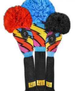 loudmouth captain thunderbolt golf headcover set