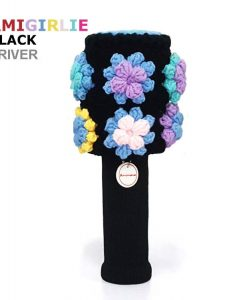 AmiGirlie Black Driver Golf Headcover