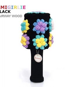 AmiGirlie Black Fairway Golf Headcover