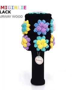 AmiGirlie Black Fairway Golf Headcover