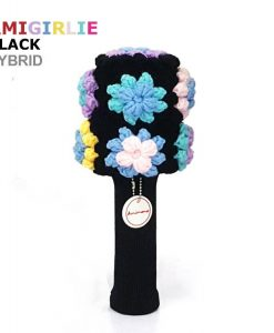 AmiGirlie Black Hybrid golf headcover