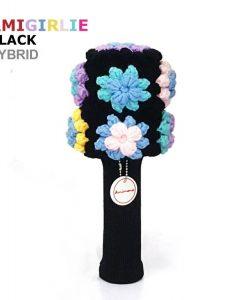 AmiGirlie Black Hybrid golf headcover