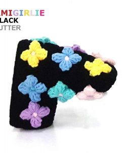 AmiGirlie Black Putter Golf Headcover
