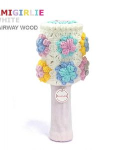 amigirlie white fariway golf headcover