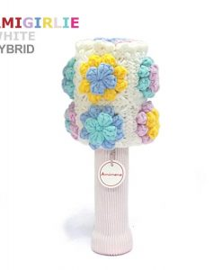 AmiGirlie White Hybrid Golf Headcover
