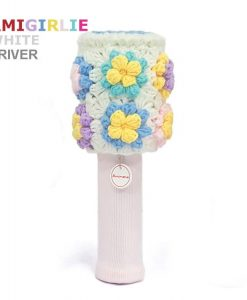 amigirlie white driver golf headcover