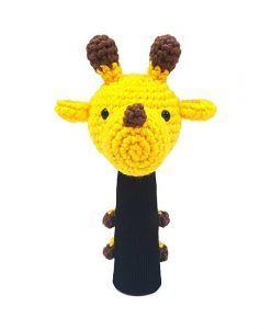 amimono giraffe yellow hybrid golf headcover