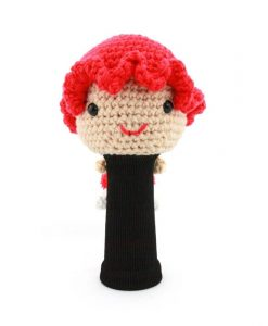 amimono girl red driver golf headcover