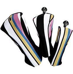cabana stripe golf headcovers