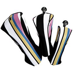 cabana stripe golf headcovers
