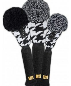 loudmouth houndstooth golf headcover set by J4G
