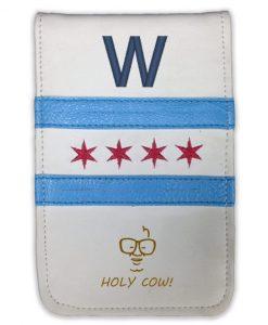 Fly the W Scorecard Yardage Book Holder